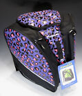 Transpack Girls Edge Jr Boot  Gear Bag for Snowsports NEW Purple Pink Leopard