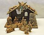 Vintage Lot 12 Christmas NATIVITY Fontanini Depose Italy SPIDER Ceviche Angel 5