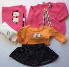 Gymboree Polka Dot Penguin 5pc outfit w Blanket 3 6 months EUC Baby Girl