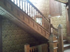 Antique Beautiful Oak Staircase, Wood work