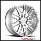 SAVINI 22 BM13 BRUSHED SILVER CONCAVE WHEELS RIMS FITS BENTLEY CONTINENTAL GT