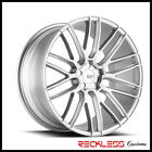 SAVINI 22 BM13 BRUSHED SILVER CONCAVE WHEELS RIMS FITS CADILLAC CTS COUPE