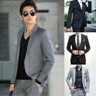 US Mens Blazer Business Wedding Slim Clothing Suit and Pants Fit One&Two Buttons