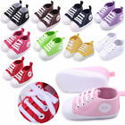 Baby Prewalker Boys Cute Canvas Sneaker Anti skid Soft Crib Kids Sports Shoes
