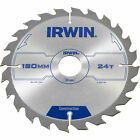 Irwin ATB Construction Circular Saw Blade 180mm 24T 30mm