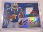 EJ Manuel Signs Exclusive Autographed Memorabilia Deal with Panini Authentic 11