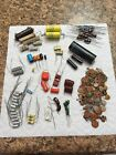 Mixed Lot of 100+ NOS Vintage Capacitors Guitar Amp Tone Caps Variety of Sizes