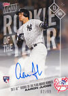 Aaron Judge Autograph RC 2017 Topps NOW OS-64A Rookie of the Year 02 99 AUTO