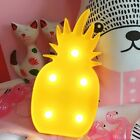 3W Pineapple LED Marquee Sign Night Light Lamp for Garden Home Party Christmas