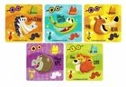15 Make an Animal Face Stickers Kid Zoo Party Goody Loot Bag Filler Favor Supply