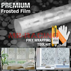 Frosted Film Glass Home Bathroom Window Security Privacy Sticker 4002