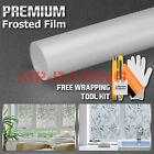 Premium Frosted Film Glass Home Bathroom Window Security Privacy Sticker 01