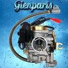 Carburetor GY6 50cc 4 Stroke 139QMB 139QMA 50QT with a Metal Cap and Oil Tube