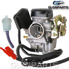 Carburetor GY6 50cc 80cc 4 Stroke 139QMB 139QMA 50QT with Electric 2pin Pump