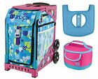 Zuca Sport Bag Be Zappy with Lunchbox and Seat Cover Pink