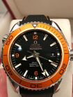 Omega Planet Ocean Ceramic 45mm  EXCELLENT 232.30.46.21.01.002 with 2 Straps!