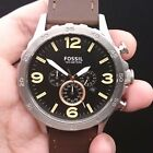 NEW OLD STOCK FOSSIL JR1475 JUMBO 50MM CHRONOGRAPH DATE QUARTZ MEN WATCH