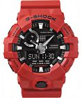 Casio G-Shock GA700-4A Watch - AUTHENTICITY GUARANTEED - Red/Black New With Tags