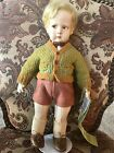 16 in antique lenci cloth boy doll