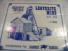 RS O On3 On30 COLORADO SCALE MODELS 475 LEAVERITE MINE CRAFTSMAN KIT