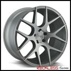 ELEMENT 20 EL1187 SILVER CONCAVE WHEELS RIMS FITS D4 AUDI A8