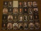 2017 the bar pieces of the past lot of 28 cards. JFK kennedy, Nixon, Malcolm X +