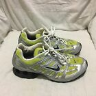 NIKE IMPAX RUNNING SHOES SILVER GREEN  SIZE 85  WOMENS