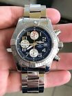 Breitling Avenger ll Chronograph Ref #A13381 Mint Condition! Black Dial