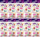 HUGE LOT Sticko BIRTHDAY FUN Stickers 10 Packs PARTY CAKE PRESENTS CELEBRATE