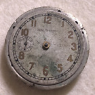 Vintage 1907 Waltham 1900 Pocket Watch Movement 0s Rare 9 Side Sub Dial Second