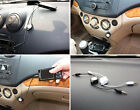 Gold 35mm Retractable Aux Line in Jack Audio Car Cable Lead iPhone iPod MP3