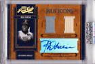 Rod Carew 2004 Playoff Prime Cuts Autograph Game Used Bat Worn Jersey 3 5 Auto