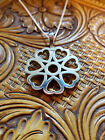 Stainless Spur Rowel Pendant Large Heart Rowel By Tom Balding Bits