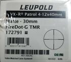Leupold 172791 VX R Patrol 4x12 40mm Fire Dot G TMR Retical