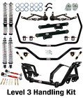 QA1 Handling Level 3 Suspension Kit - Fits 1979-1989 Ford Mustang,GT,w/ Shocks '