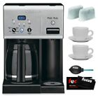 Cuisinart CHW 12 Refurbished Coffee Plus 12 Cup Programmable Coffeemaker Bundle