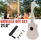 Tenor Ukulele KIT DIY Spruce TOP Spalted Mango Back Fretboard Neck Accessories