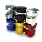Motorcycle 6 Color CNC Brake Clutch Master Cylinder Fluid Reservoir Tank Oil Cup