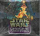 1998 Topps Star Wars Chrome Archives Cards Sealed Box Of 36 Packs