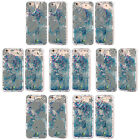 HEAD CASE SILVER HOLIDAY SKY BLUE GLITTER CASE FOR APPLE iPHONE SAMSUNG PHONES