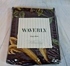 New Waverly Somerset Botanical Chocolate King Shams Williamsburg Design Set of 2
