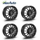 4PCS 15x65 Rims 4x100 Wheels +40mm Offeset Fits Kia Rio5 Honda Fit Chevy Prizm