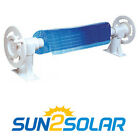 Sun2Solar Above Ground Solar Cover Reel for Swimming Pool up to 24 Wide