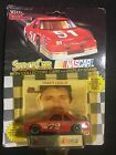RACING CHAMPIONS STOCK CAR NASCAR TRACY LESLIE #72 RED  W/CARD & STAND 1/64