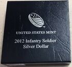 2012 US Mint Infantry Soldier Commemorative Silver Dollar Proof