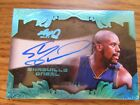 Shaquille O'Neal 2017 Leaf Q Lakers Auto Blue 7 15