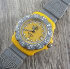 Tag Heuer Formula 1 Yellow Dial Mens Midsize Watch 382.513 from USA Seller