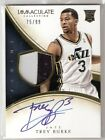 Trey Burke 13 14 Immaculate patch Auto RC #126 Serial #75 99