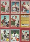 TOPPS HERITAGE 2017 LOT OF 86 SWAP CHROME REAL AUTO SP ACTION MINI HIGH  + BASE