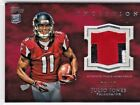 Julio Jones Atlanta Falcons 2011 Topps Inception Red Rookie Patch Relic RC 10